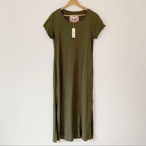 C & C California Maxi Dress Olive Green